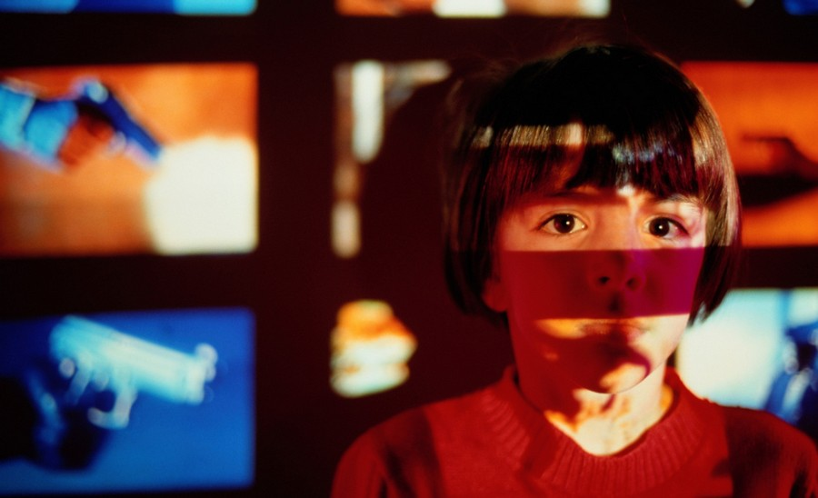 the effects of television violence on young children and their future behavior