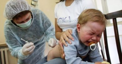 дети прививки