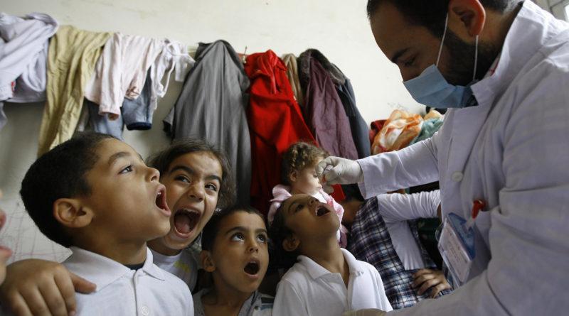 вспышка полиомиелита в Сирии