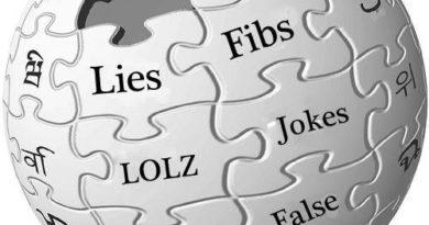 википедия ложь