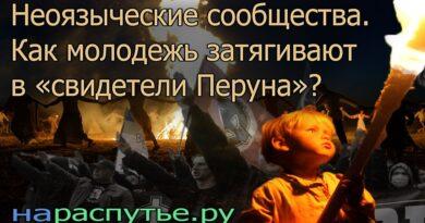 Неоязыческие сообщества. Как молодежь затягивают в «свидетели Перуна»?